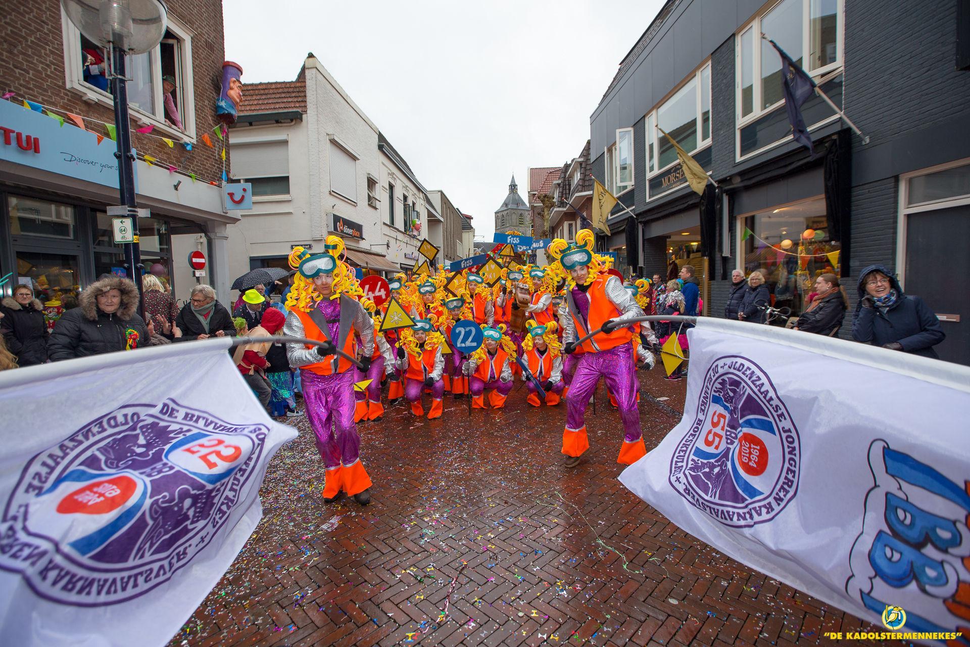 Grote Twentse Carnavalsoptocht - winnaars 2019 De Blaanke Boeskeulkes