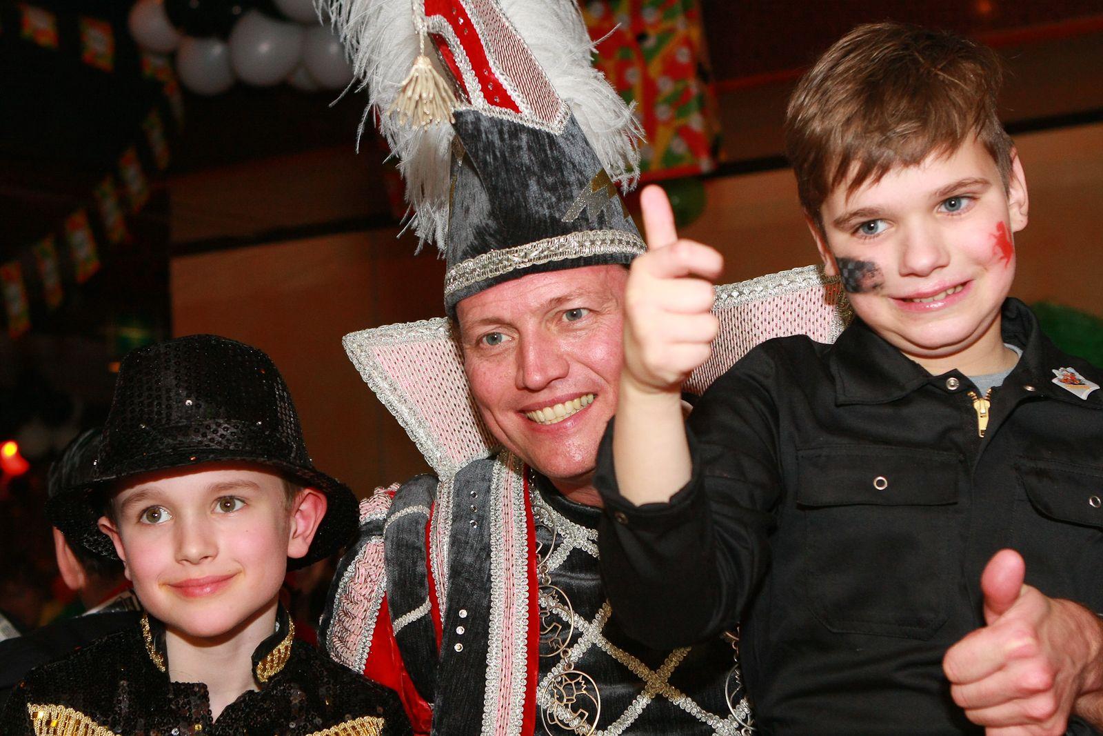 Prins Frans IV tijdens Kuuk'n Festival - kindercarnaval