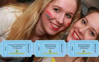 Laatste kaarten, kaartverkoop carnavalsweekend
