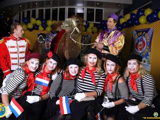 Circus Prinz foto's bij de entree verzorgd door Suus Fotosjop