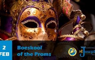 Boeskool of the Proms - Venetiaans carnaval Bal Masque Gemaskerd bal