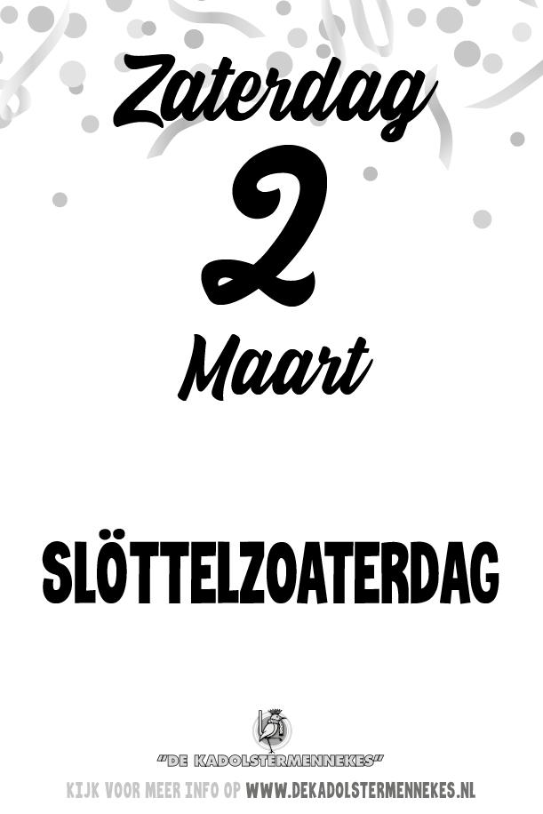 Skeurkalender Kadolstermennekes zaterdag 2 maart 2019 (vandaag is het zaterdag 2 maart 2019)