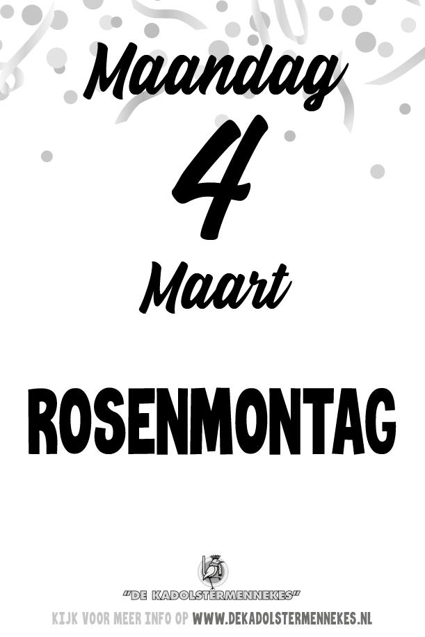 Skeurkalender Kadolstermennekes maandag 4 maart 2019 (vandaag is het maandag 4 maart 2019)