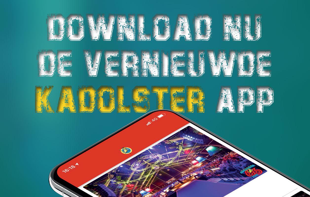 De nieuwe Kadolsterapp is per direct beschikbaar in de Appstores van Apple en Google Play. Download hem nu!