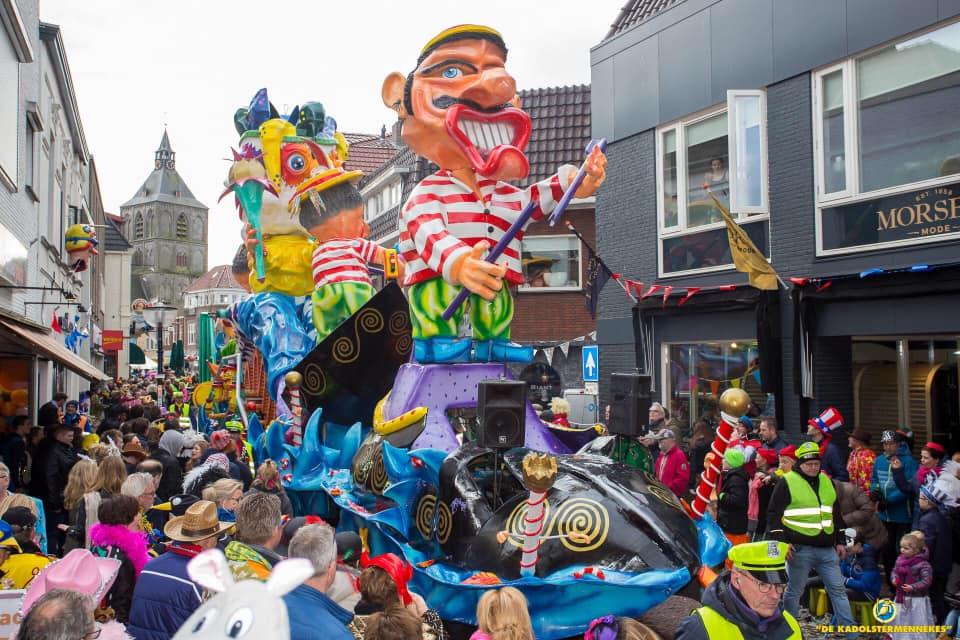 Optocht Oldenzaal vanwege weersomstandigheden afgelast