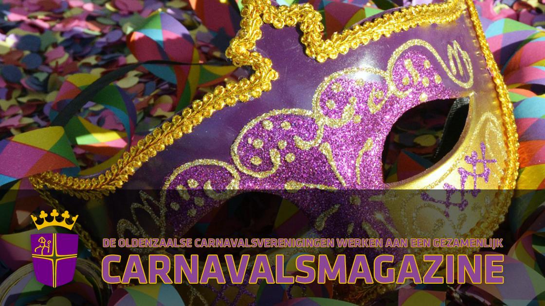 Carnavalsmagazine 2021 een initiatief van alle Oldenzaalse carnavalsverenigingen