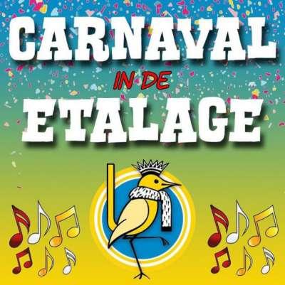 Carnaval in de etalage